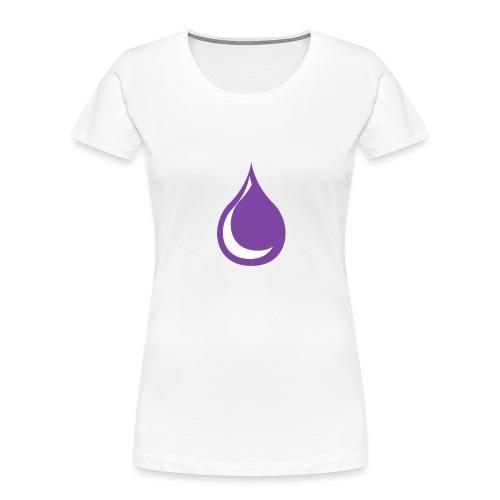 drop - Women's Premium Organic T-Shirt