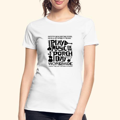 PMOTPD2021 SHIRT - Women's Premium Organic T-Shirt
