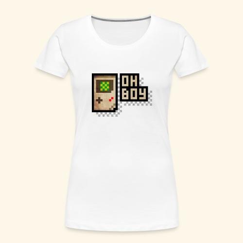 Oh Boy - Women's Premium Organic T-Shirt