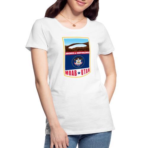 Utah - Moab, Arches & Canyonlands - Women's Premium Organic T-Shirt