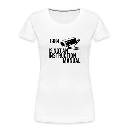 1984 - Women's Premium Organic T-Shirt