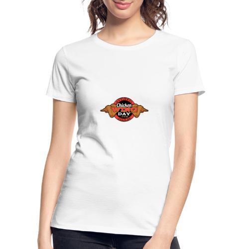 Chicken Wing Day - Women's Premium Organic T-Shirt