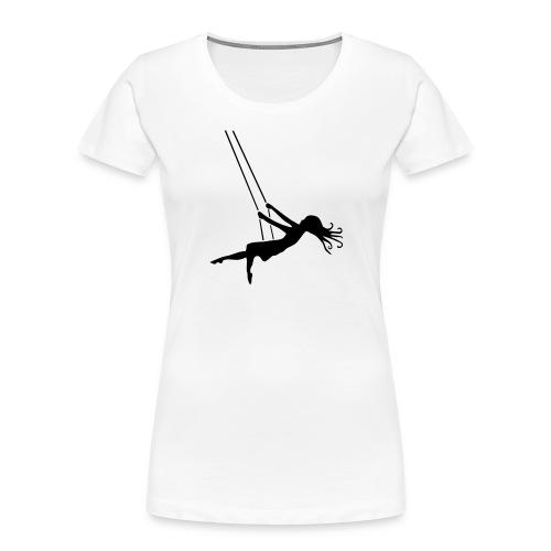 Swinging Girl - Women's Premium Organic T-Shirt
