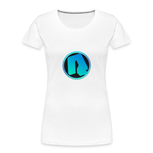 Channel Logo - qppqrently Main Merch - Women's Premium Organic T-Shirt