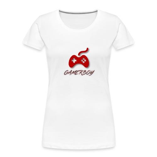 Gamerboy - Women's Premium Organic T-Shirt