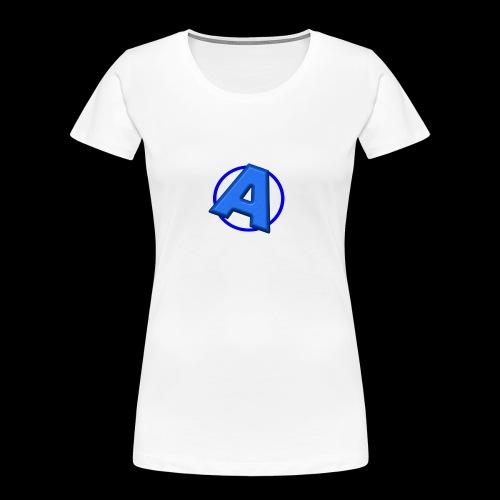 Awesomegamer Logo - Women's Premium Organic T-Shirt