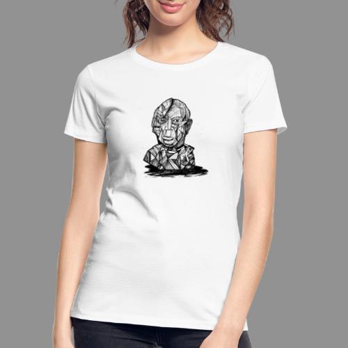 Wolfman Originals Black & White 21 - Women's Premium Organic T-Shirt