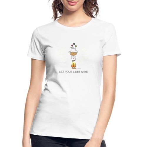 Let your light shine - Women's Premium Organic T-Shirt