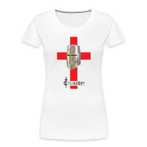 crusader_red - Women's Premium Organic T-Shirt