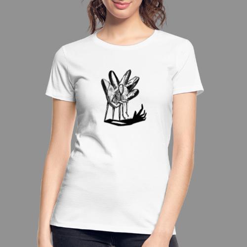 Wolfman Originals Black & White 17 - Women's Premium Organic T-Shirt