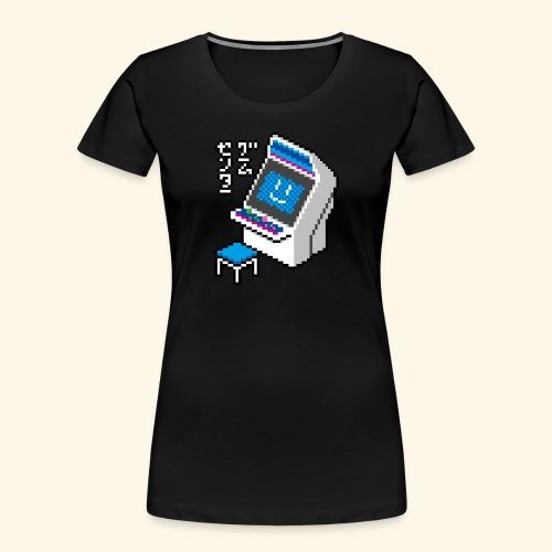 Pixelcandy_BC - Women's Premium Organic T-Shirt
