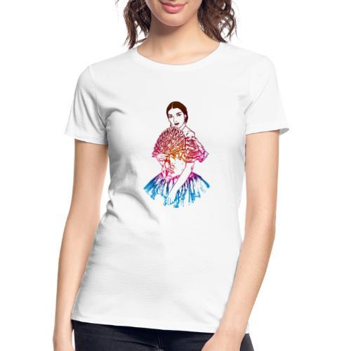 La traviata: Maria Callas as Violetta Valéry - Women's Premium Organic T-Shirt