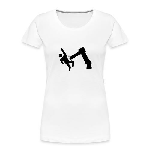 Robot Wins! - Women's Premium Organic T-Shirt