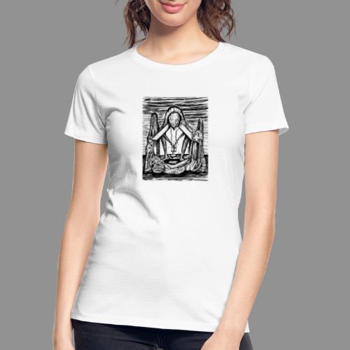 Wolfman Originals Black & White 11 - Women's Premium Organic T-Shirt