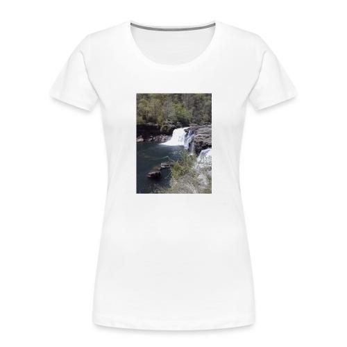 LRC waterfall - Women's Premium Organic T-Shirt