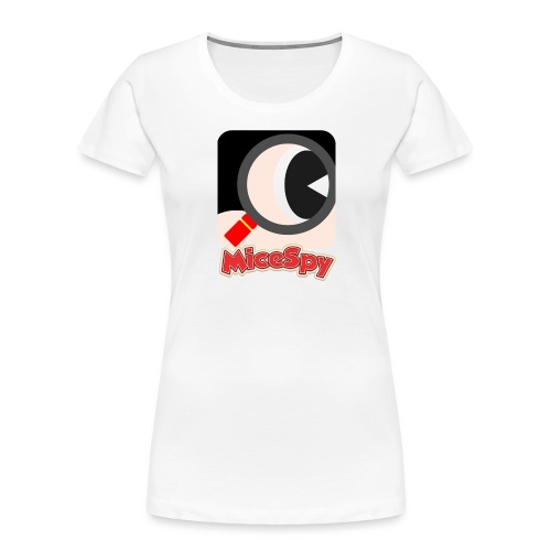 MiceSpy with your eye! - Women's Premium Organic T-Shirt