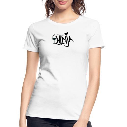Wine Ninja - Women's Premium Organic T-Shirt