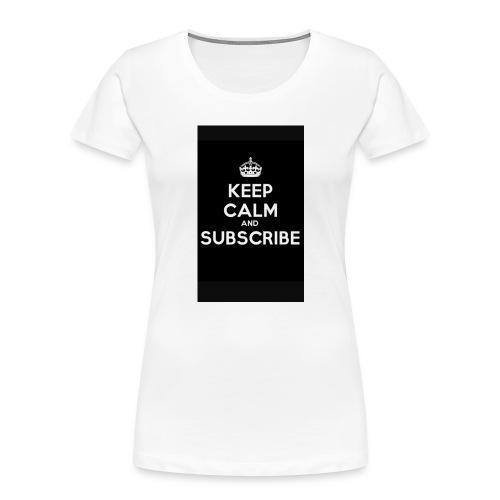 Keep calm merch - Women's Premium Organic T-Shirt