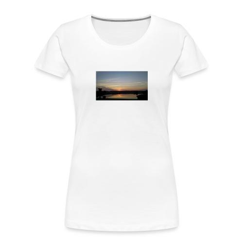Sunset on the Water - Women's Premium Organic T-Shirt