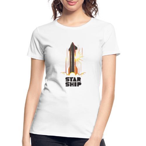 Star Ship Mars - Light - Women's Premium Organic T-Shirt