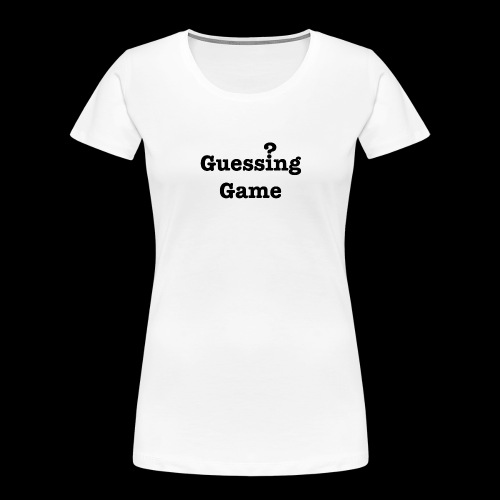 Question - Women's Premium Organic T-Shirt