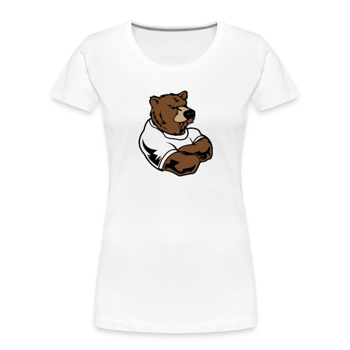 bear - Women's Premium Organic T-Shirt