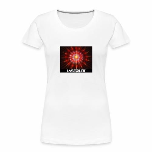 LASERIUM Laser starburst - Women's Premium Organic T-Shirt
