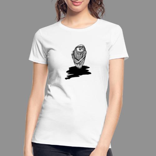 Wolfman Originals Black & White 16 - Women's Premium Organic T-Shirt