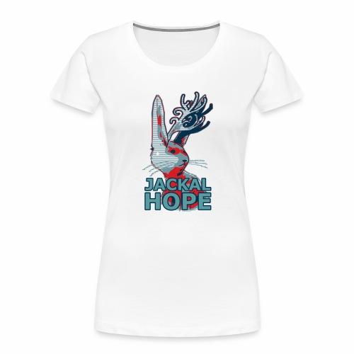 Jackalhope - Women's Premium Organic T-Shirt