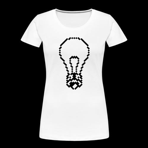 lightbulb - Women's Premium Organic T-Shirt