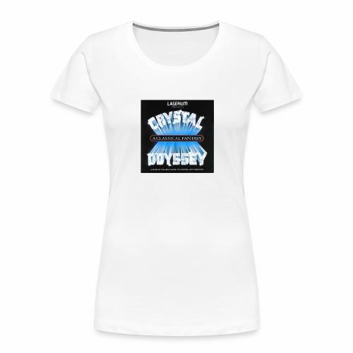 Laserium Crystal Osyssey - Women's Premium Organic T-Shirt