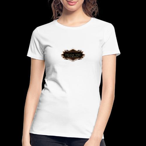 teamTSC badge03 Bar - Women's Premium Organic T-Shirt