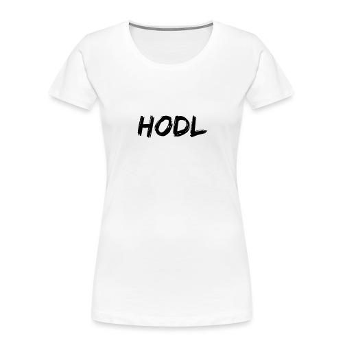 HODL - Women's Premium Organic T-Shirt