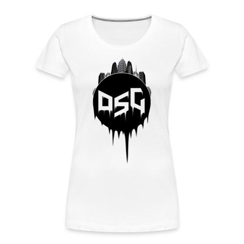DSG Casual Women Hoodie - Women's Premium Organic T-Shirt