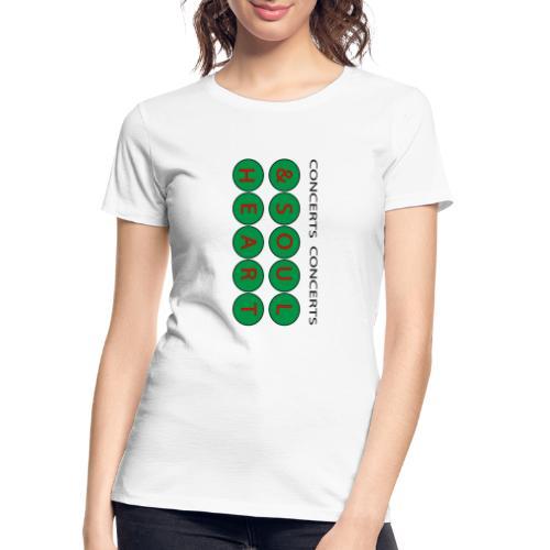 Heart & Soul Concerts Money Green - Women's Premium Organic T-Shirt