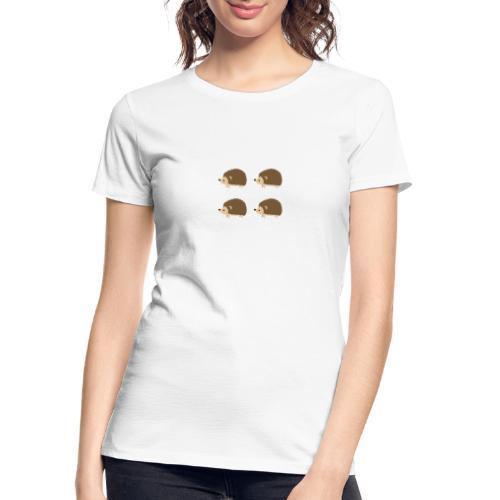4up Hedgehogs - Women's Premium Organic T-Shirt