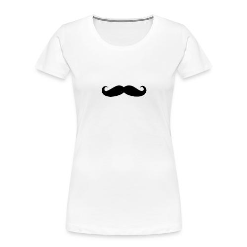 mustache - Women's Premium Organic T-Shirt