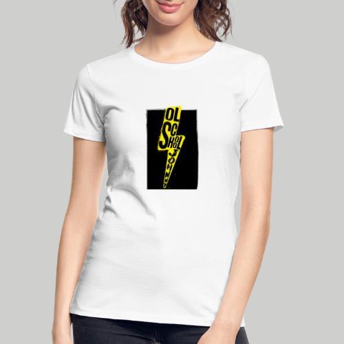 Ol' School Johnny Colour Lightning - Women's Premium Organic T-Shirt