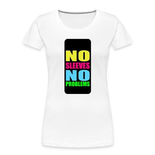 neonnosleevesiphone5 - Women's Premium Organic T-Shirt
