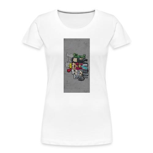 sparkleziphone5 - Women's Premium Organic T-Shirt