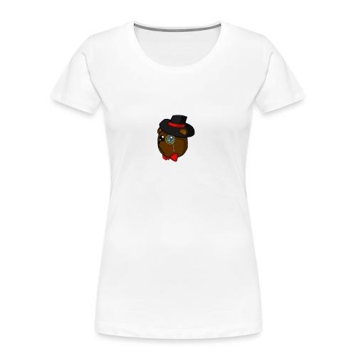 Bears in tophats - Women's Premium Organic T-Shirt