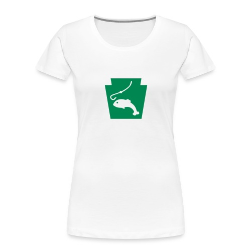 Pennsylvania Fishing Keystone PA - Women's Premium Organic T-Shirt