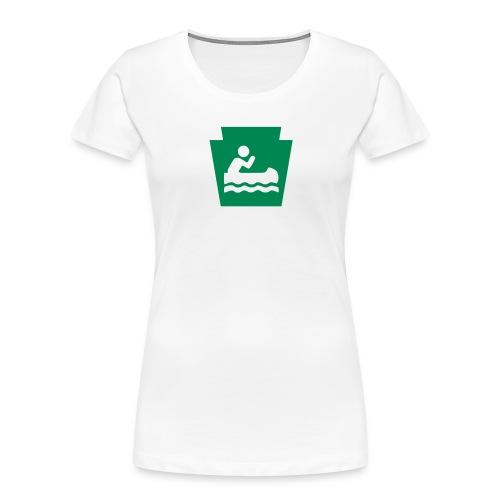 Pennsylvania Keystone Boater PA - Women's Premium Organic T-Shirt