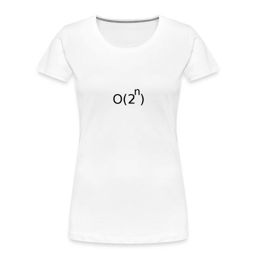 Big-O Notation - Women's Premium Organic T-Shirt