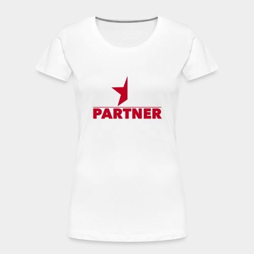 Half-Star Partner - Women's Premium Organic T-Shirt