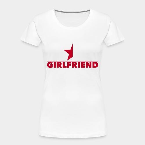 Half-Star Girlfriend - Women's Premium Organic T-Shirt