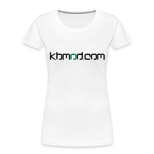 kbmoddotcom - Women's Premium Organic T-Shirt