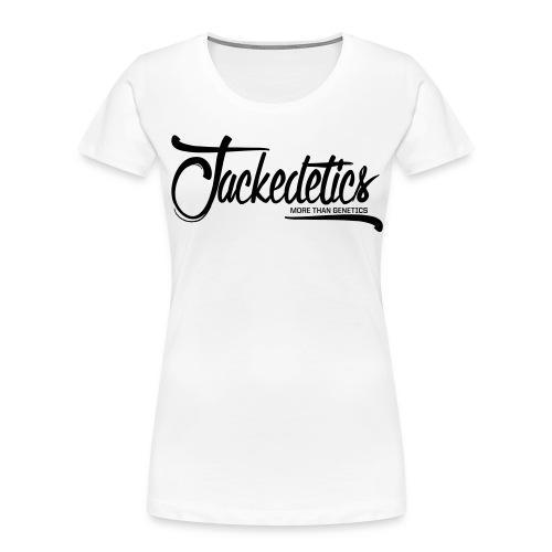 Jackedetics Cursive - Women's Premium Organic T-Shirt