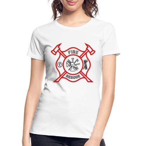 Fire Rescue - Women's Premium Organic T-Shirt