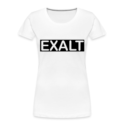 EXALT - Women's Premium Organic T-Shirt